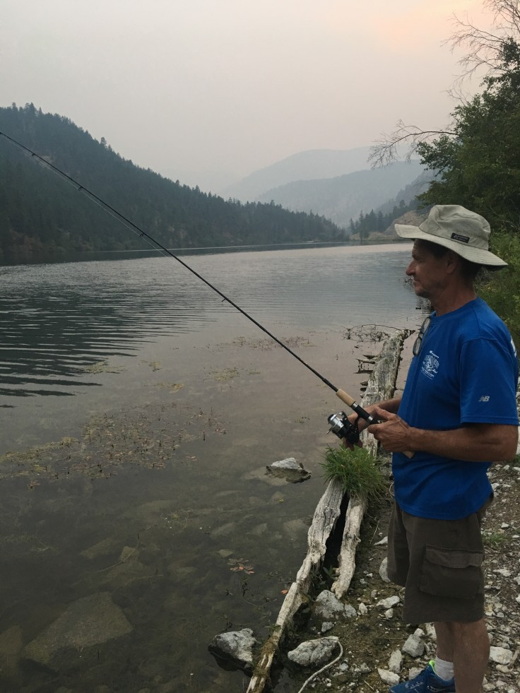 fishing in the Okanagan