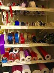ribbons, netting, simanay