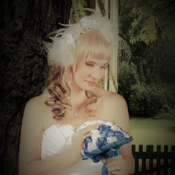 Share your world - bride - alopecia